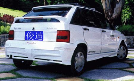 英格尔尾翼 广州俊迪大包围汽车用品厂高清图片